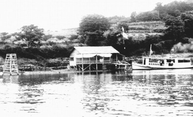 着工前の箕島の風景