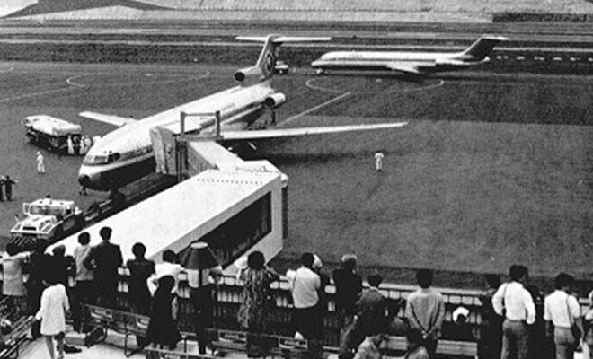 1975年5月長崎空港開港